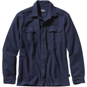 Patagonia Fjord LS Flannel Shirt Men navy blue
